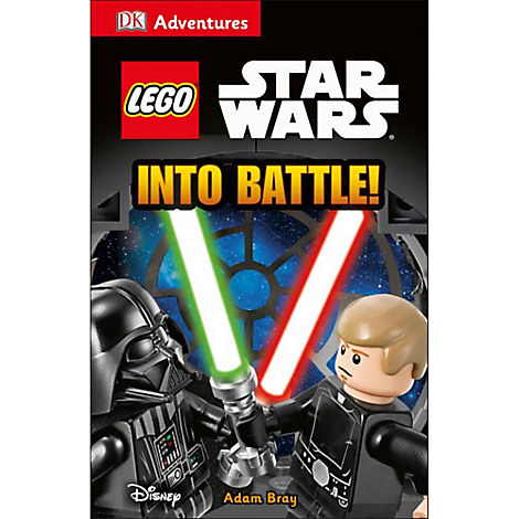 Star Wars LEGO Into Battle Book