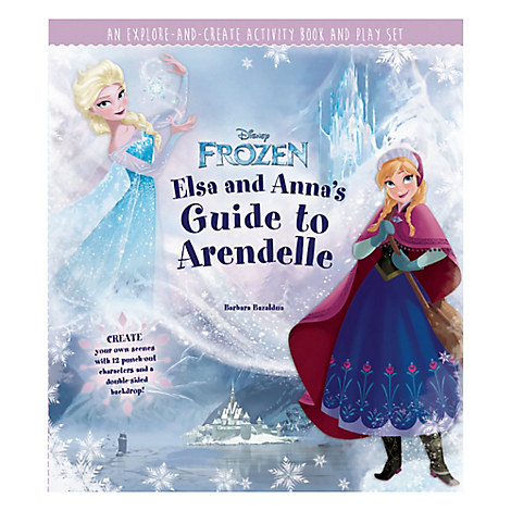 Elsa and Anna's Guide to Arendelle Book
