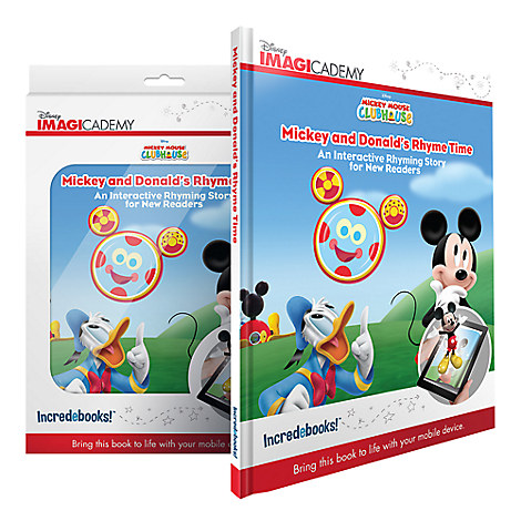 Mickey and Donald's Rhyme Time Book and Mobile App