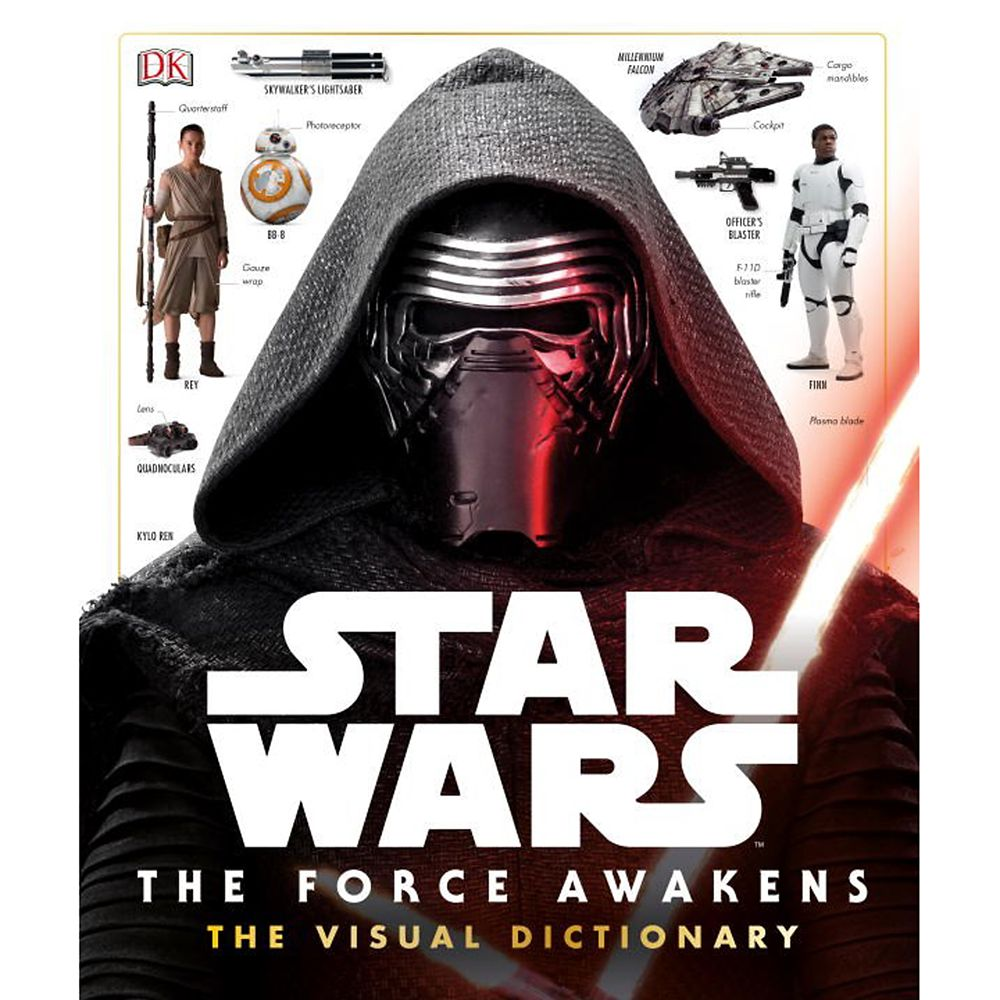 Star Wars: The Force Awakens The Visual Dictionary Book Official shopDisney