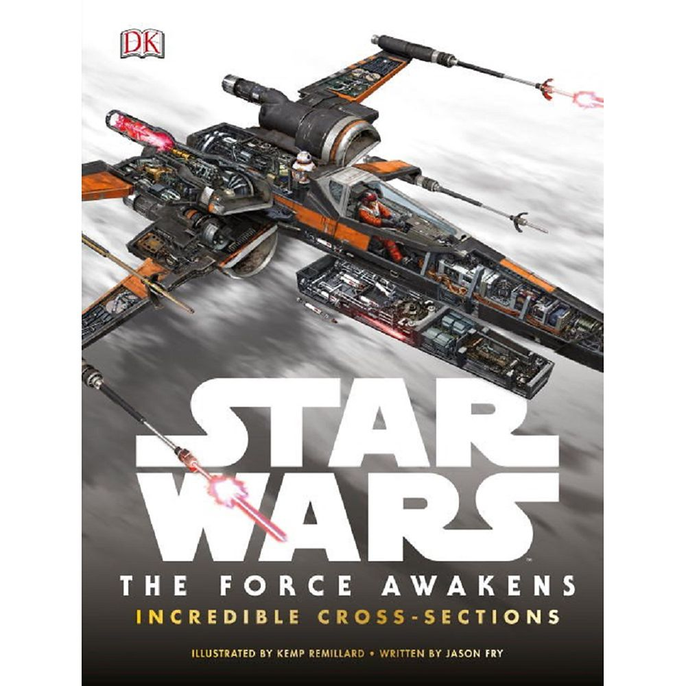 Star Wars: The Force Awakens Incredible Cross-Sections Book