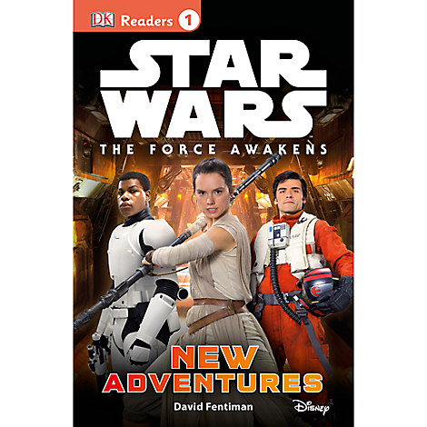 Star Wars: The Force Awakens New Adventures - Level 1 Reader Book
