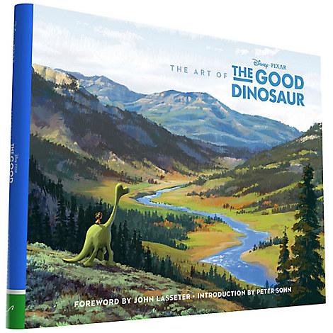 The Art of The Good Dinosaur Book