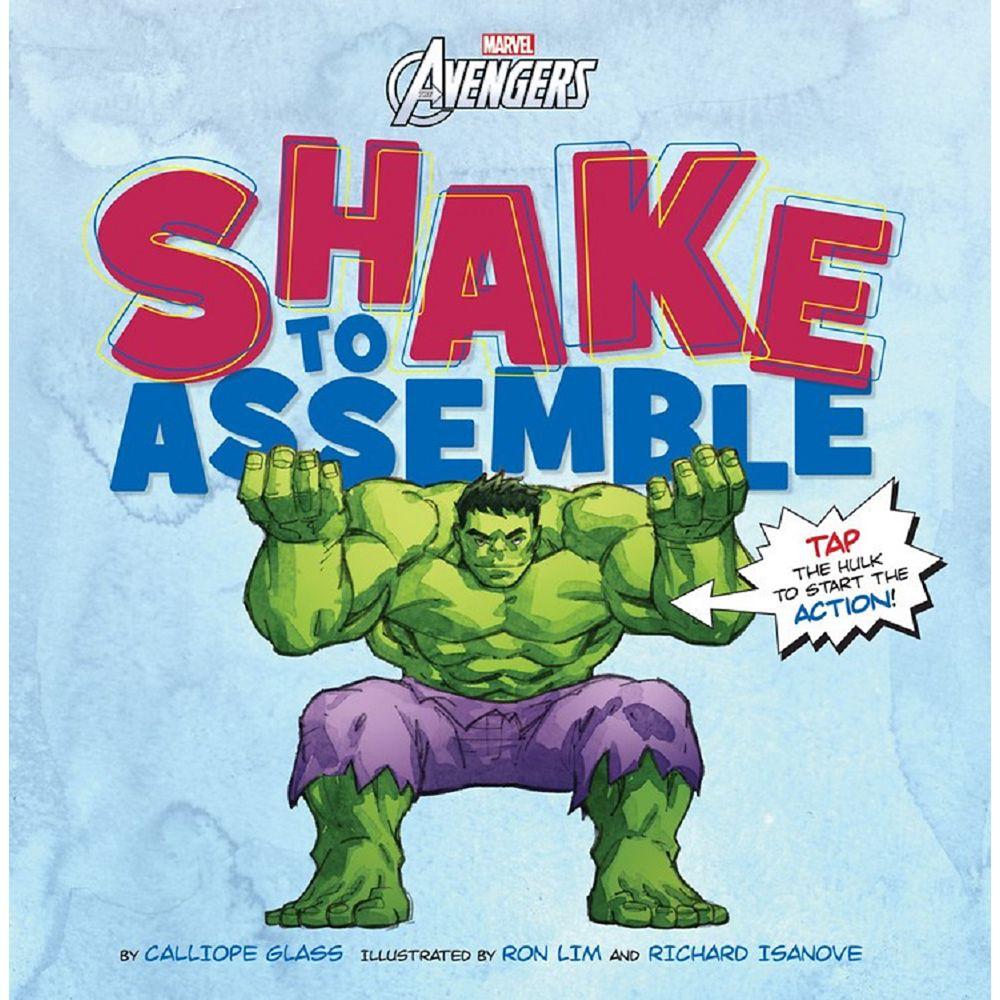 Marvel's Avengers Shake to Assemble Book Official shopDisney