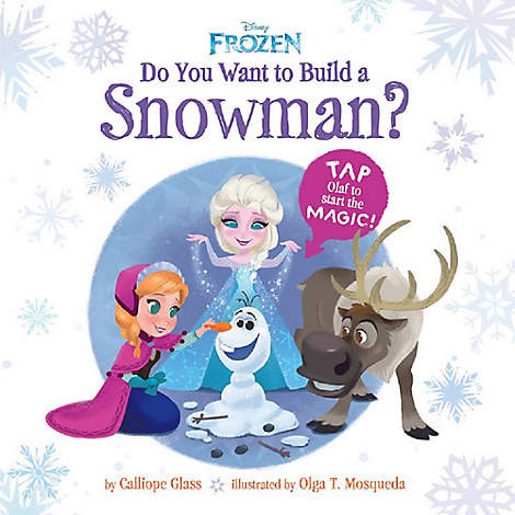 Frozen: Do You Want to Build a Snowman? Book