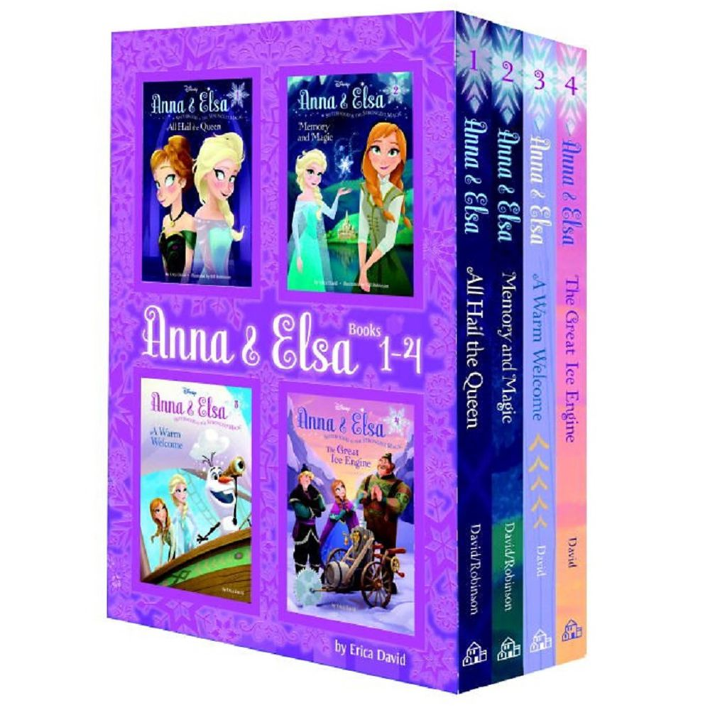 Anna & Elsa: Books 1-4 Boxed Set Official shopDisney