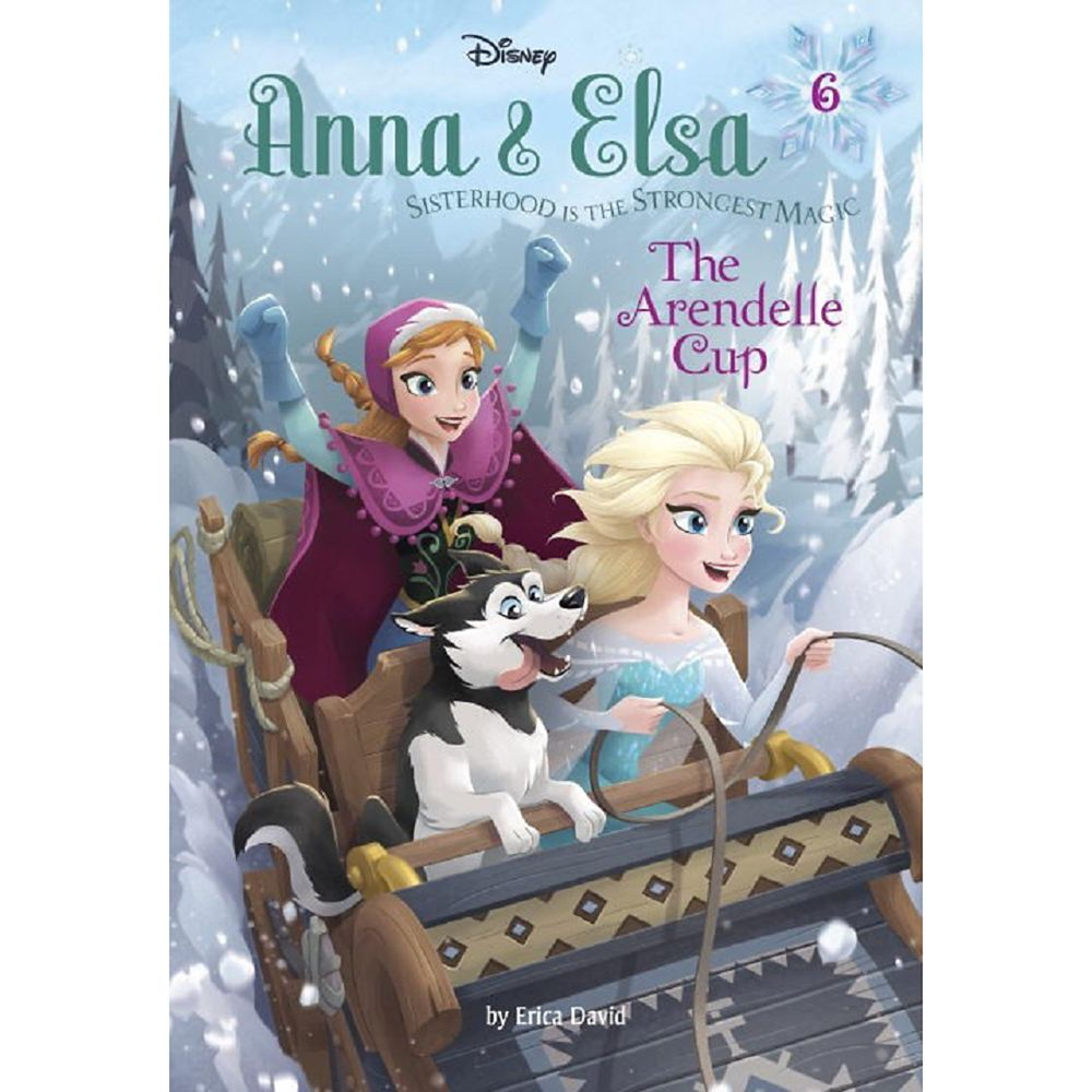 Anna & Elsa 6: The Arendelle Cup Book Official shopDisney