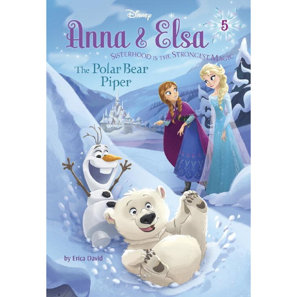 Anna & Elsa 5: The Polar Bear Piper Book Official shopDisney