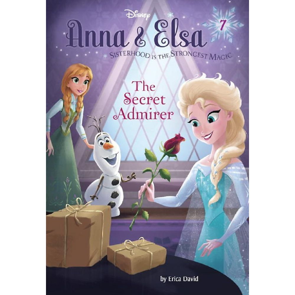 Anna & Elsa 7: The Secret Admirer Book Official shopDisney