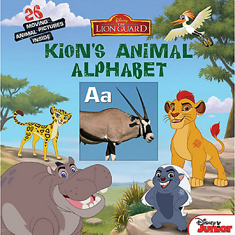 The Lion Guard: Kion's Animal Alphabet Book