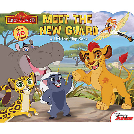 The Lion Guard: Meet the New Guard Book