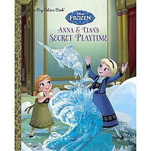 Anna & Elsa's Secret Playtime - Big Golden Book