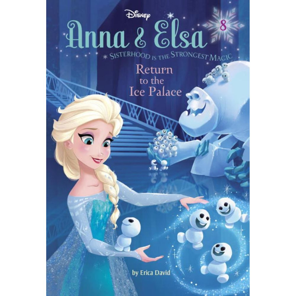 Anna & Elsa 8: Return to the Ice Palace Book Official shopDisney