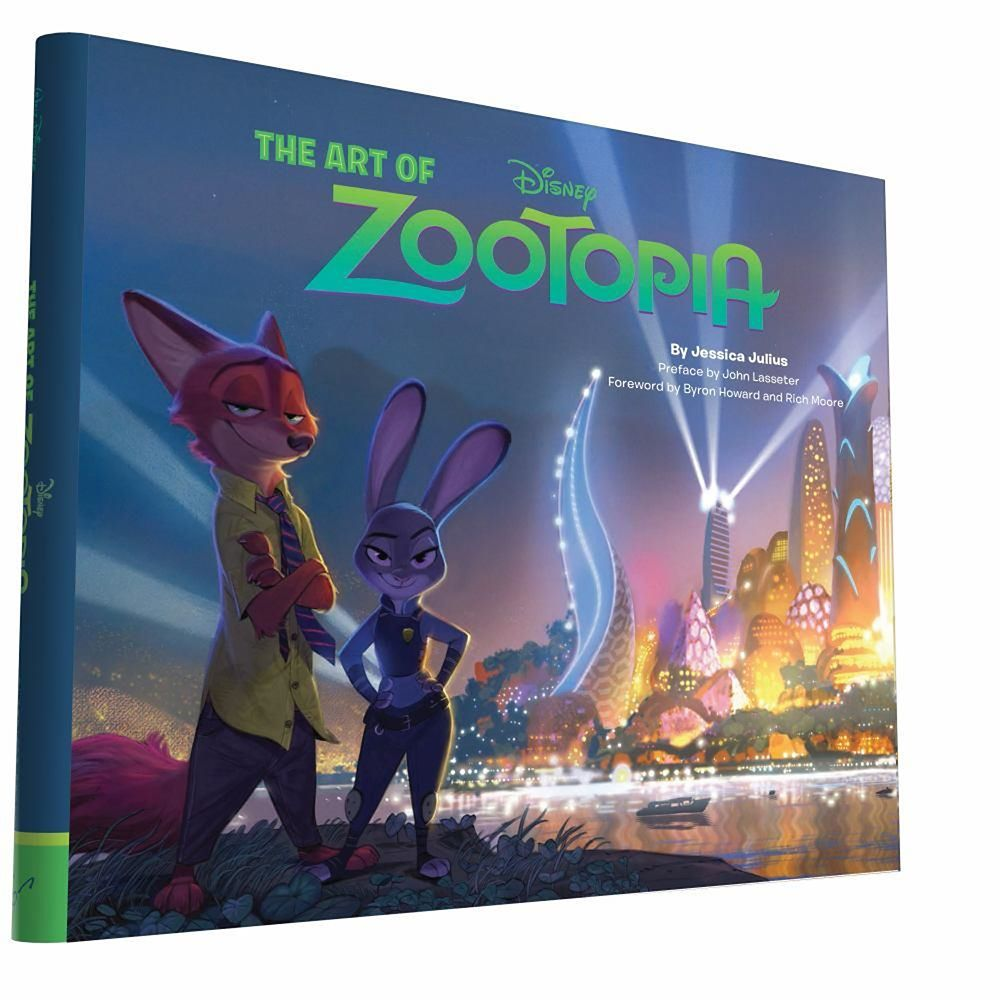 The Art of Zootopia Book Official shopDisney