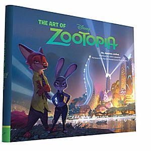 The Art of Zootopia Book 7741055951828P