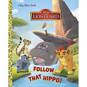 The Lion Guard: Follow That Hippo! - Big Golden Book