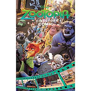 Zootopia: Cinestory Comic Book