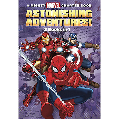 Marvel Astonishing Adventures Book