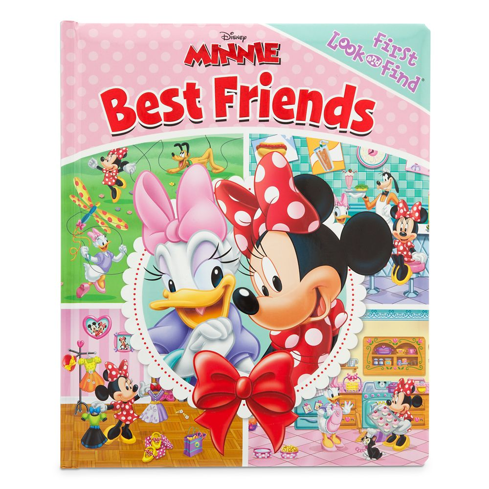 Minnie Mouse ''Best Friends'' First Look and Find Book