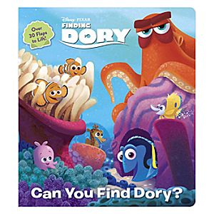 Finding Dory: Can You Find Dory? Book 7741055951884P
