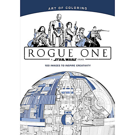 Rogue One: A Star Wars Story Art of Coloring Book