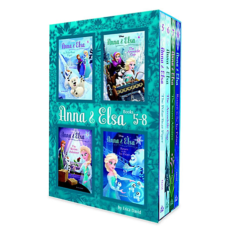 Anna and Elsa Book Set