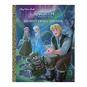 Frozen Northern Lights: Kristoffs Crystal Adventure - Big Golden Book