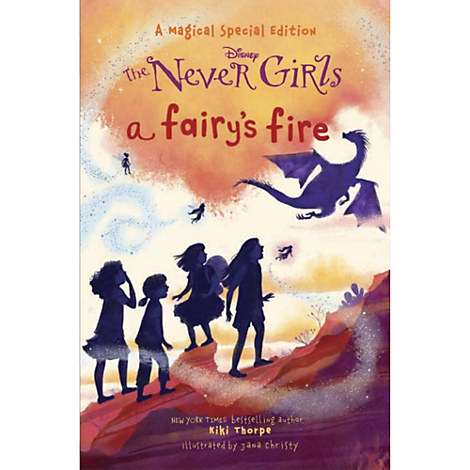 The Never Girls Book - ''A Fairy's Fire''