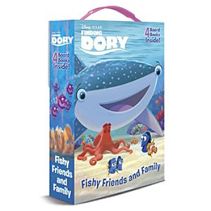 Finding Dory ''Fishy Friends and Family'' Board Book Set 7741055951903P