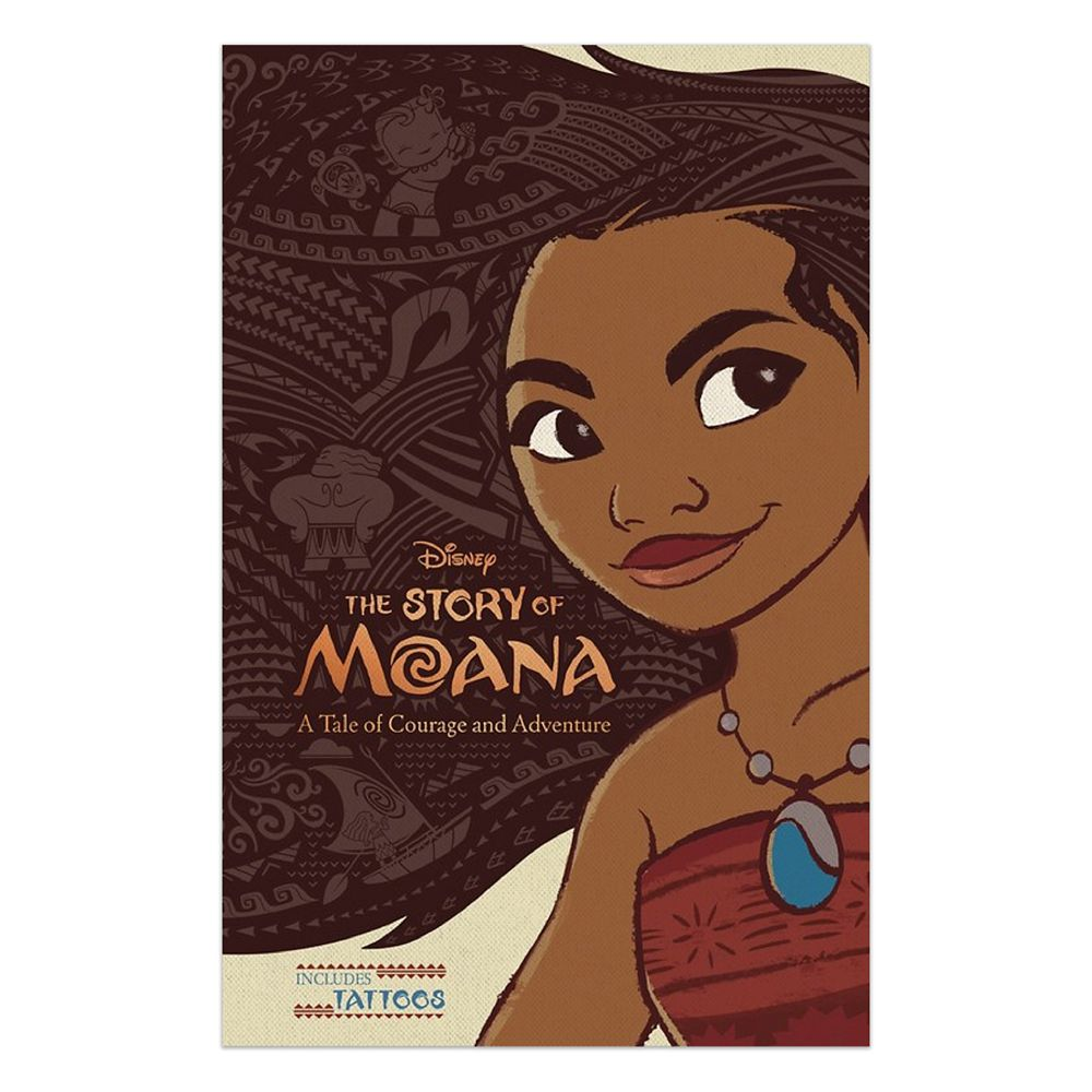 The Story of Moana Book Official shopDisney