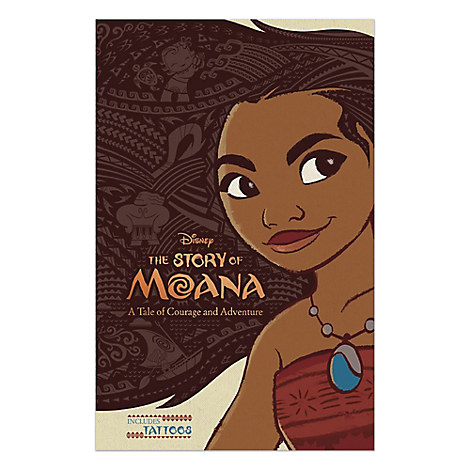 The Story of Moana Book