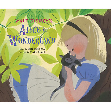 Walt Disney's Alice in Wonderland Book