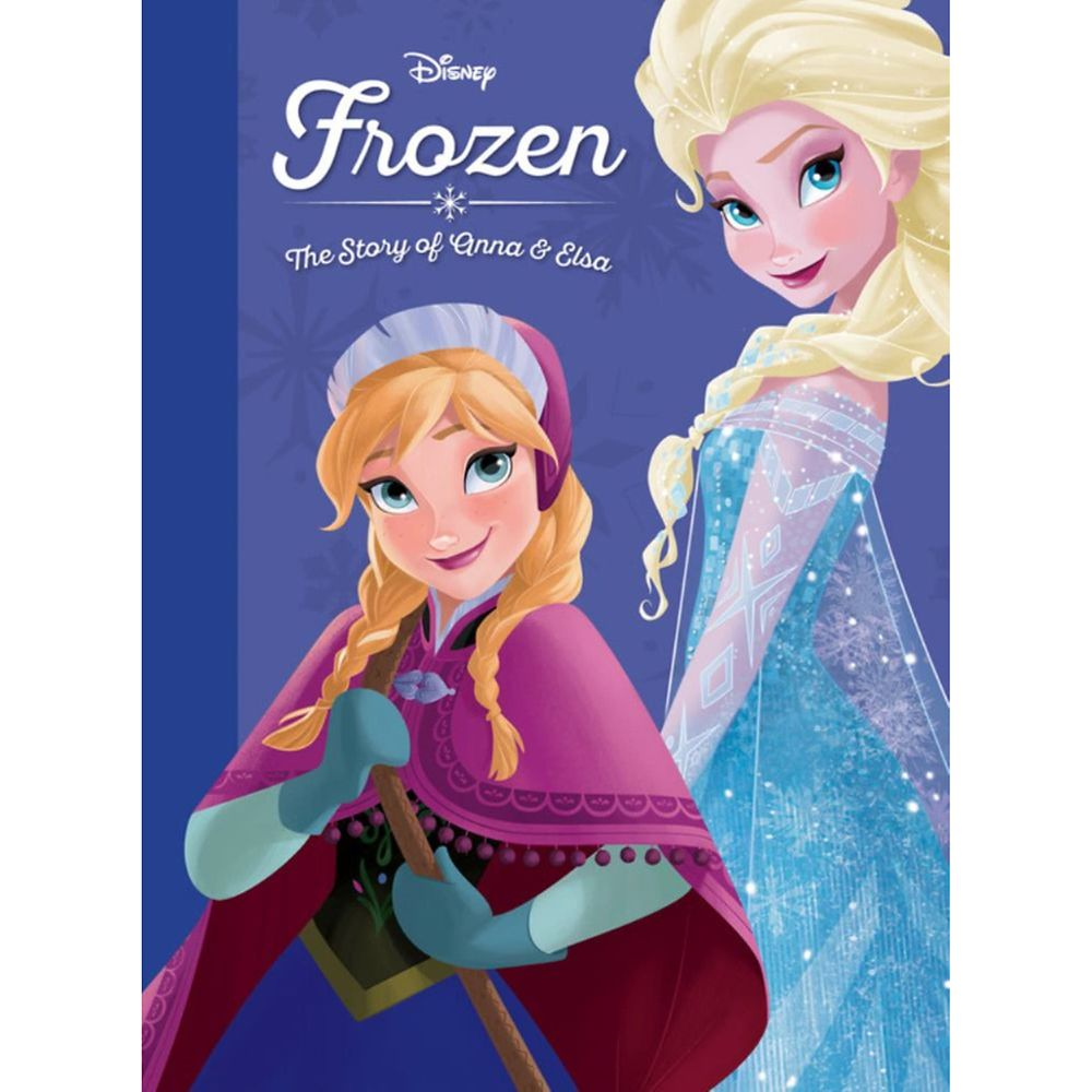 Frozen: The Story of Anna & Elsa Book