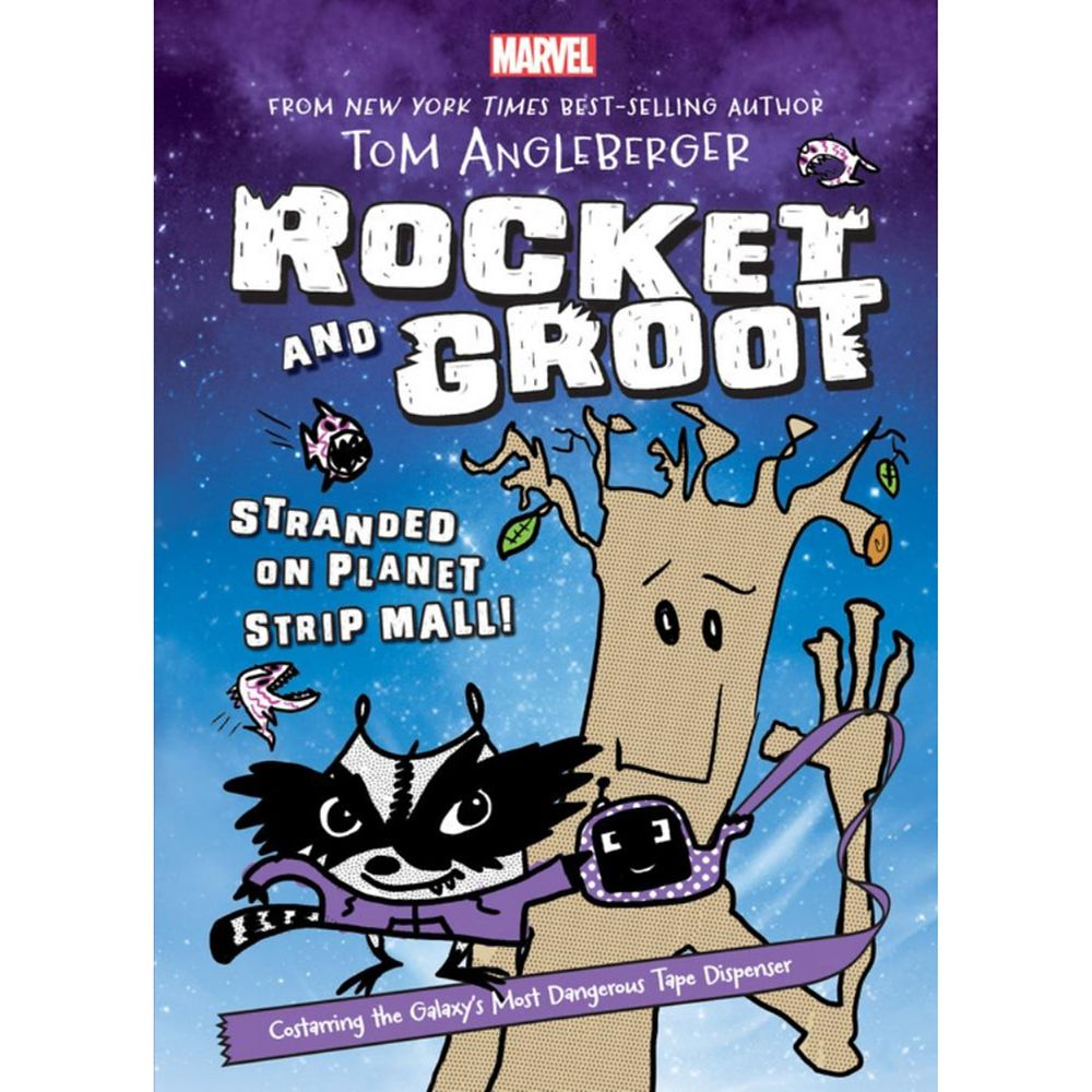 Rocket and Groot: Stranded on Planet Strip Mall! Book Official shopDisney