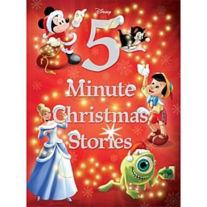 Disney 5-Minute Christmas Stories Book