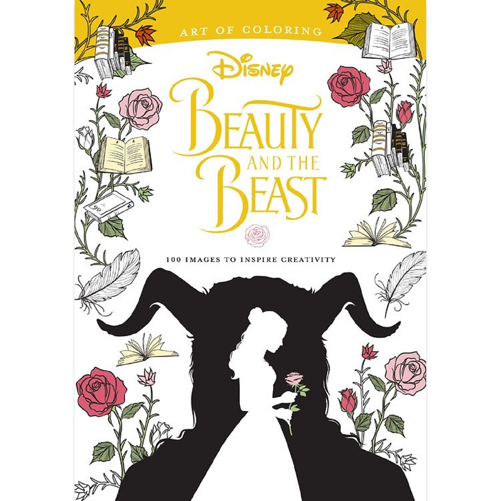 Beauty and the Beast Art of Coloring Book  Live Action Film Official shopDisney