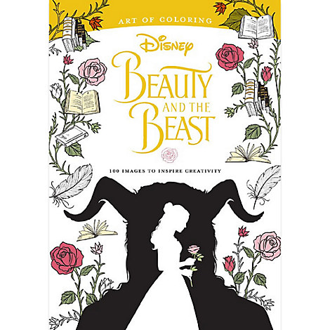 Beauty and the Beast Art of Coloring Book - Live Action Film