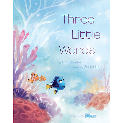 Finding Dory: Three Little Words Book