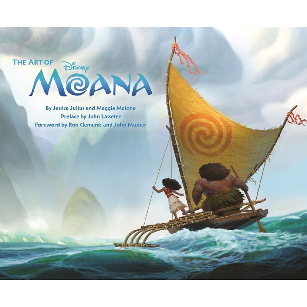 The Art of Moana Book