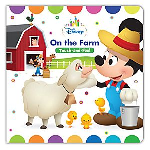 Mickey Mouse On the Farm Touch-and-Feel Book