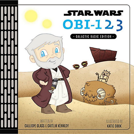 Star Wars: Obi - 1 2 3 Book