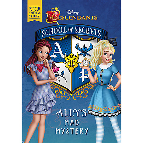 Descendants School of Secrets: Ally's Mad Mystery Book
