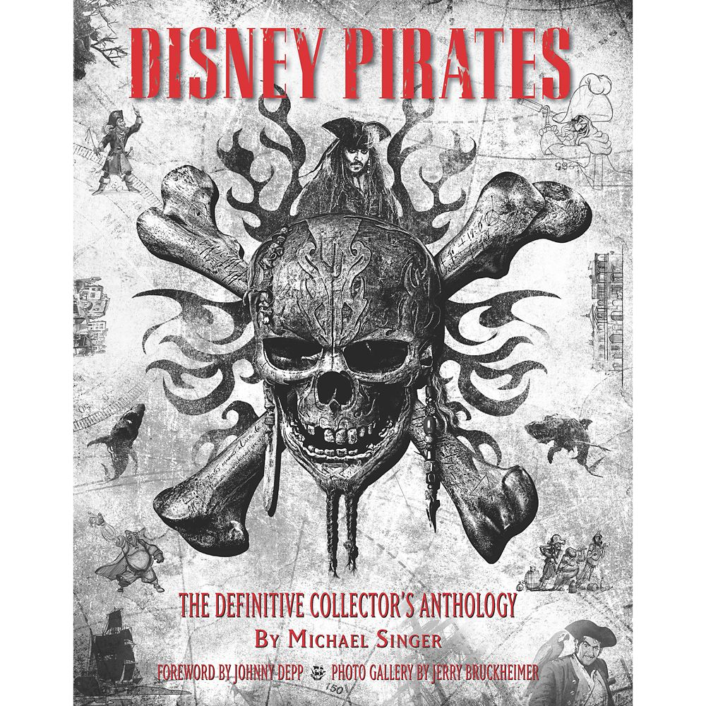 Disney Pirates: The Definitive Collector's Anthology Book