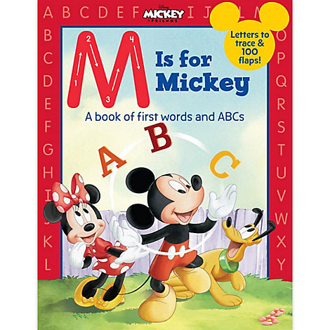 M is for Mickey Book