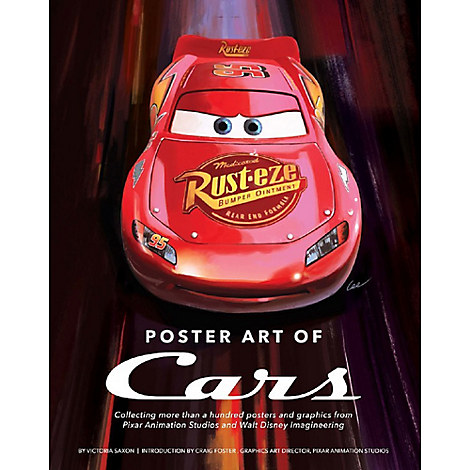 Poster Art of Cars Book