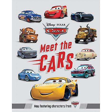 Meet the Cars Book