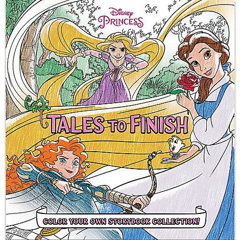 Disney Princess Storybook Collection: Tales to Finish Book