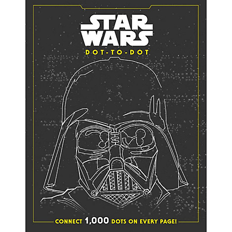 Star Wars Dot-to-Dot Activity Book