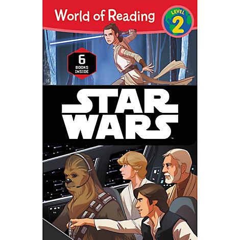 Star Wars World of Reading Book Set