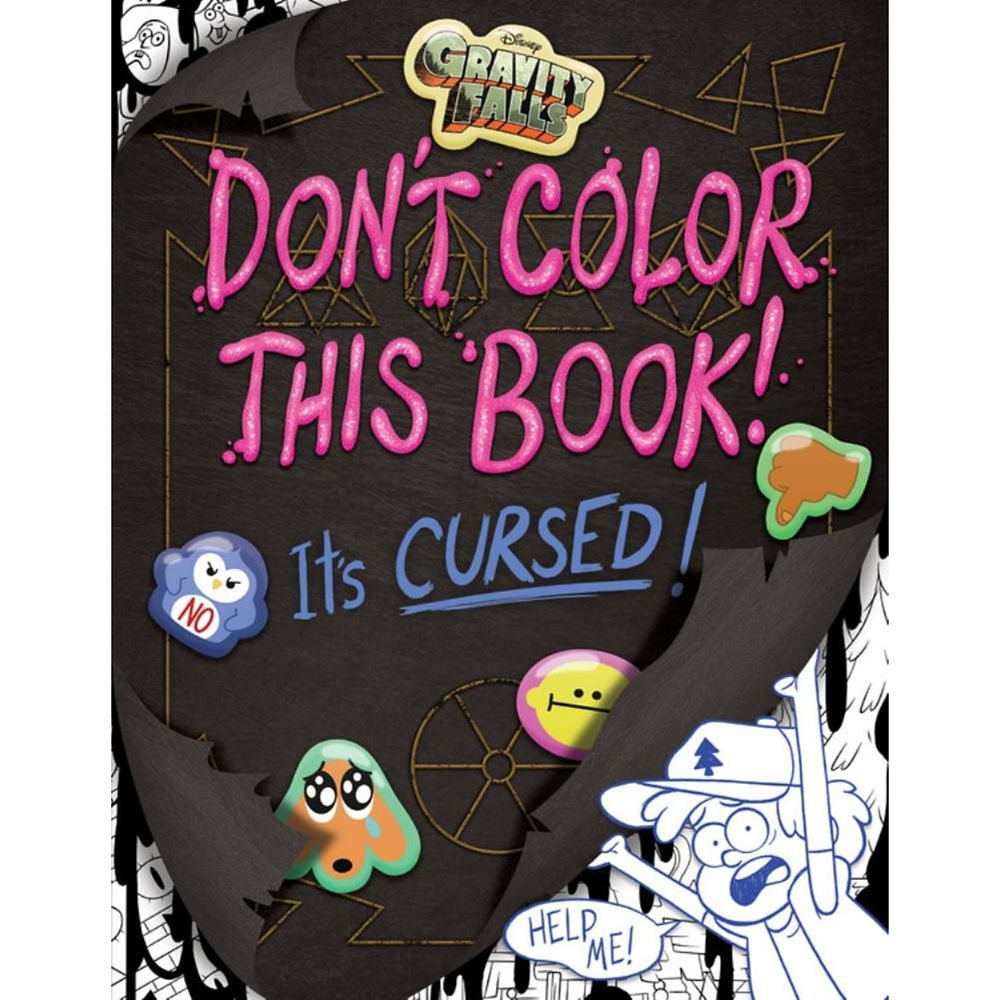 Gravity Falls Cursed Coloring Book Official shopDisney